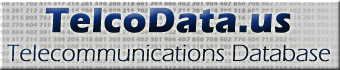 TelcoData.US - Telecommunications Database